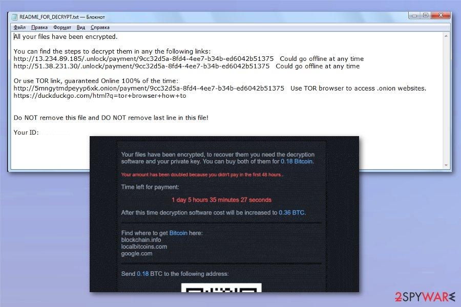 Muhstik ransomware