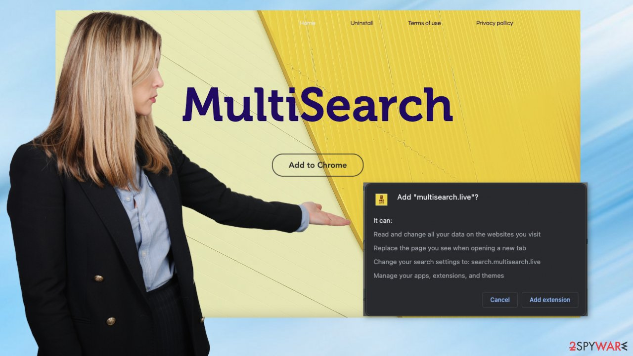 Multisearch.live site