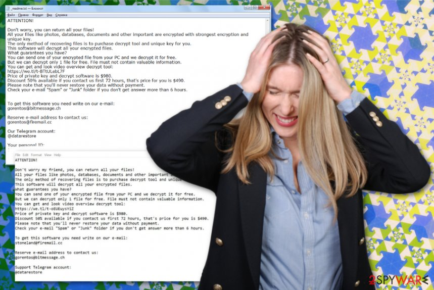 Muslat ransomware virus
