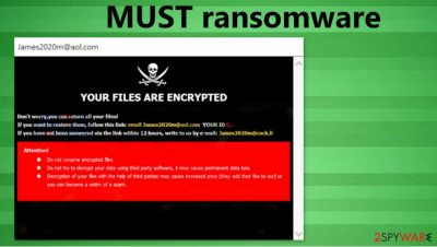 MUST ransomware