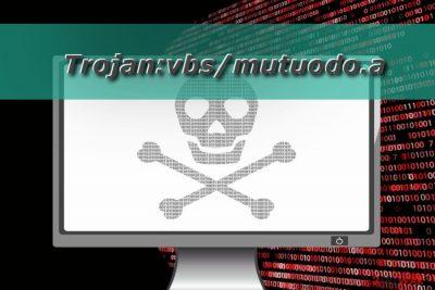Trojan:vbs/mutuodo.a virus illustration