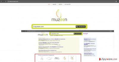 Muzeen.com virus on Chrome