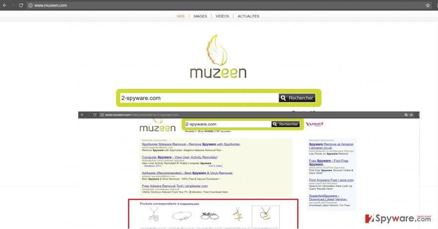 Muzeen.com virus on Chrome