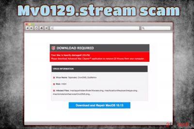 Mv0129.stream pop-ups