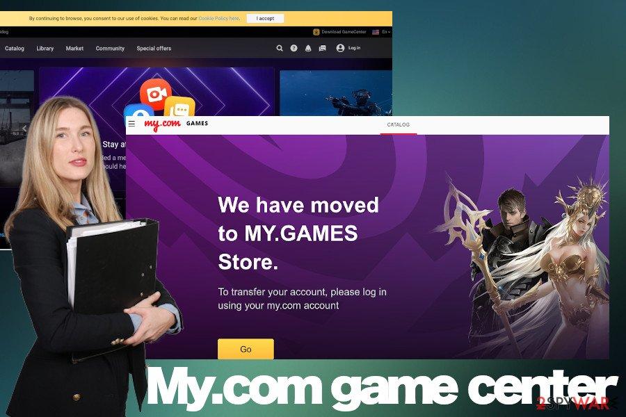 My.com game center PUP