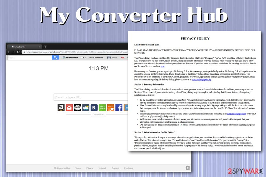 My Converter Hub Privacy Policy