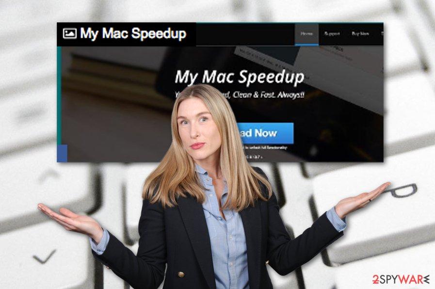 My Mac Speedup system optimization program