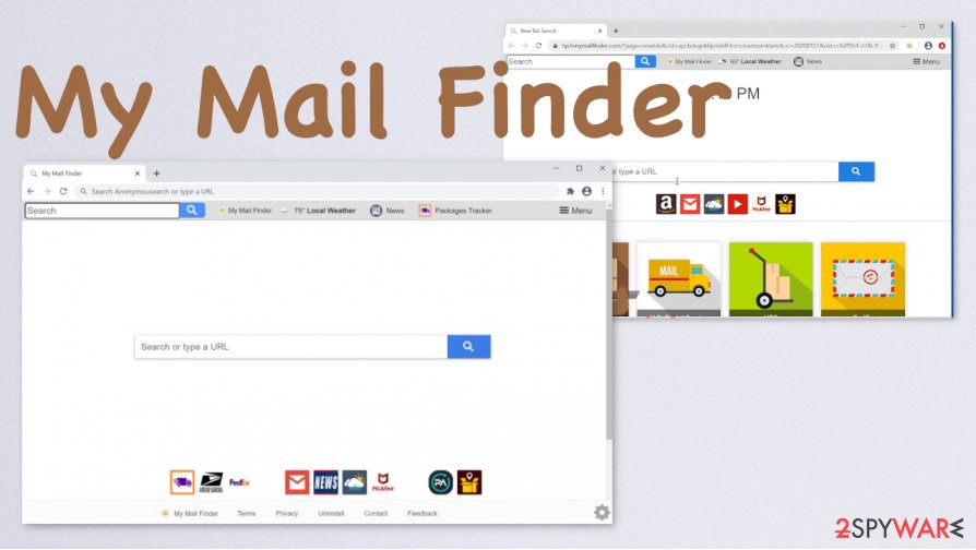 My Mail Finder