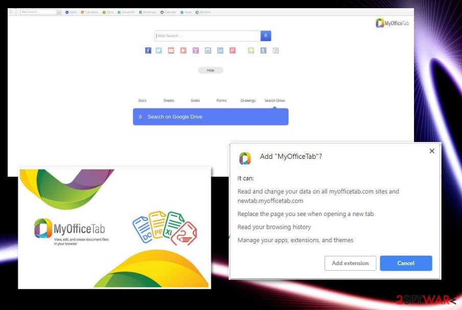 MyOfficeTab virus