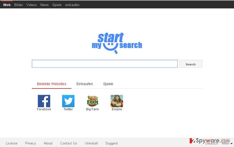 Mystartsearch.com