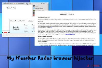 My Weather Radar hijacker