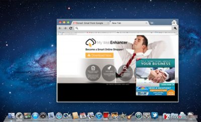The image showing My WebEnhancer