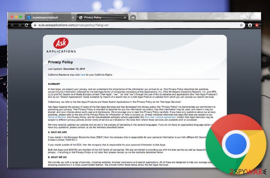 Mywebsearch malware