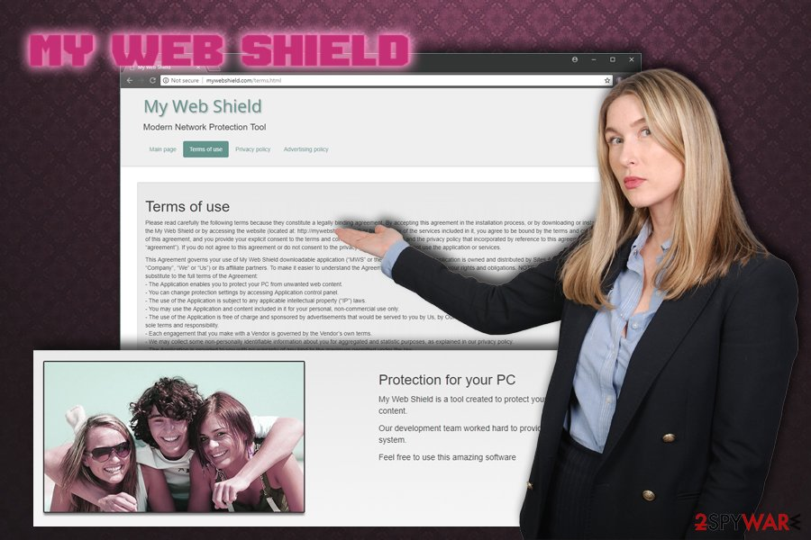 My Web Shield virus