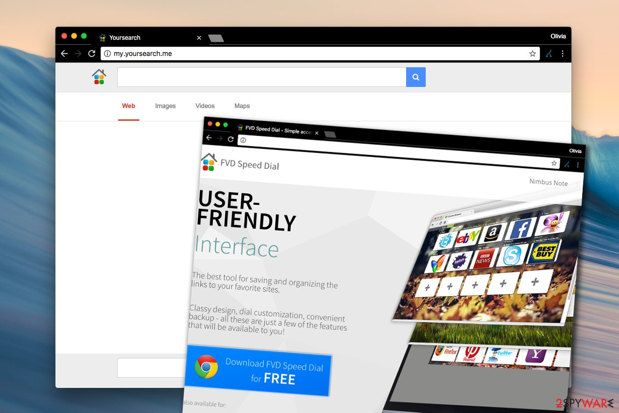 Remove My yoursearch me virus (Free Guide) - Chrome, Firefox