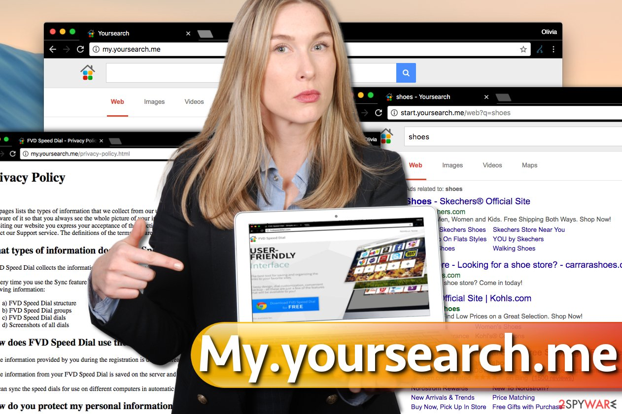 My.yoursearch.me virus alters browser's settings