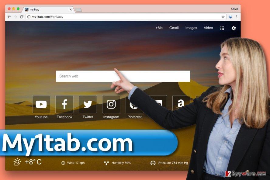 My1tab.com redirect virus