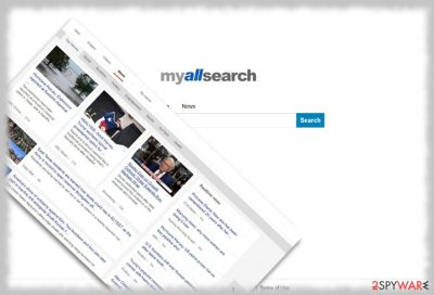 The image of MyAllSearch virus
