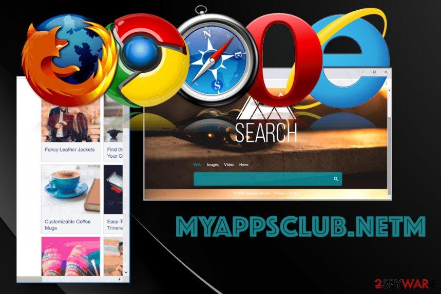 Myappsclub.net ads