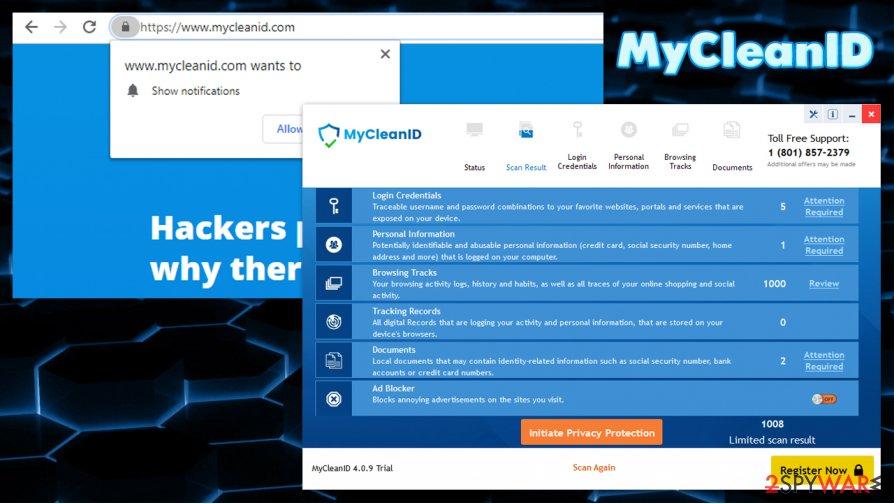 MyCleanID scam