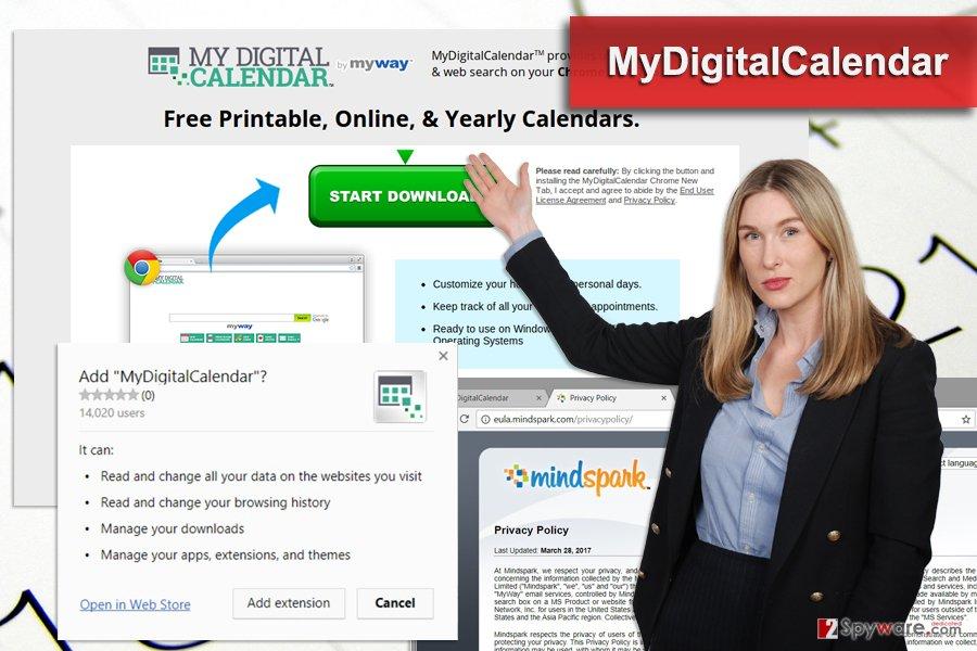 The image of MyDigitalCalendar