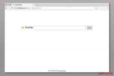 Myfirsttab.com search engine