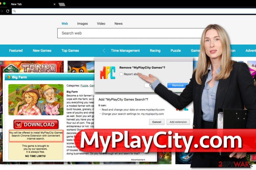 MyPlayCity.com virus