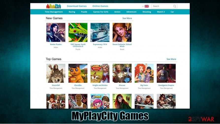 MyPlayCity Games