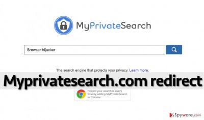 Myprivatesearch.com browser hijacker is not a trustworthy program