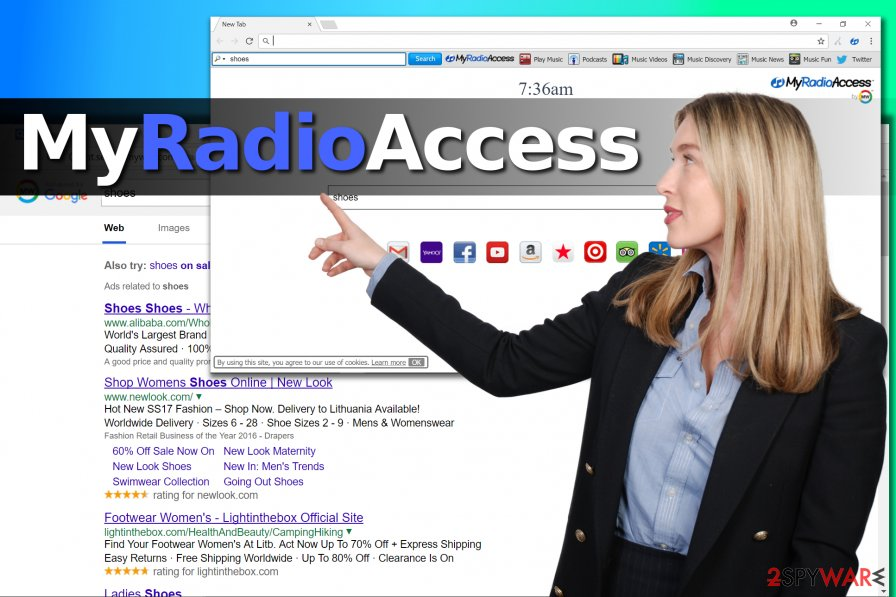 MyRadioAccess search