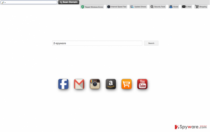 The picture displaying Mysafetabssearch.com