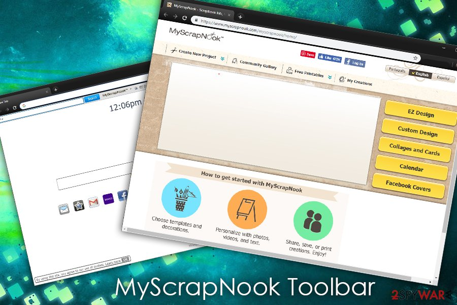MyScrapNook Toolbar browser hijacker