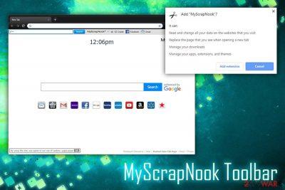 MyScrapNook Toolbar