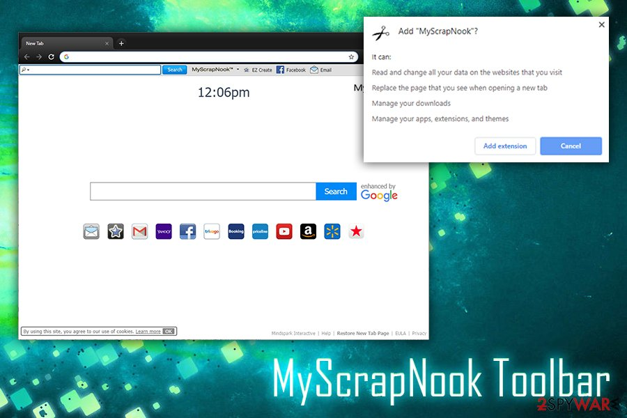 MyScrapNook Toolbar