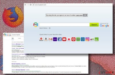 MySearch Search virus printscreen