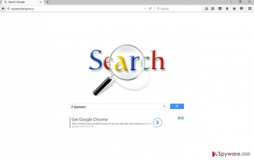 The picture of  Mysearchengine.ru search engine