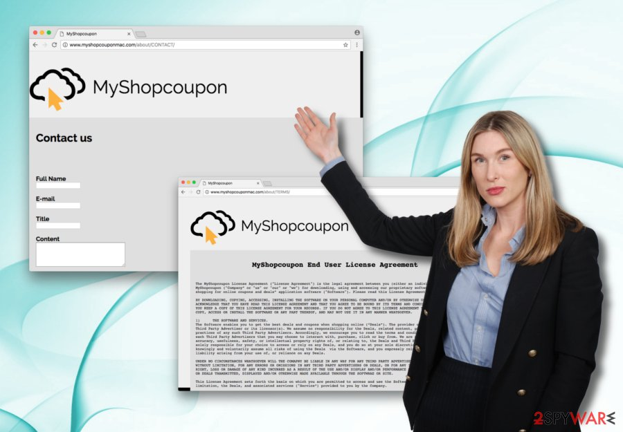 MyShopcoupon adware presented by security researcher