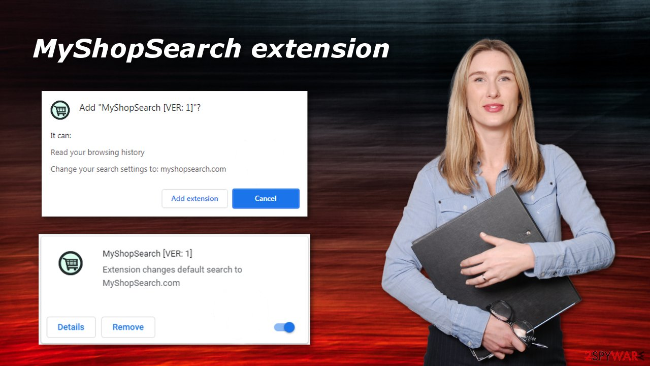 MyShopSearch browser extension