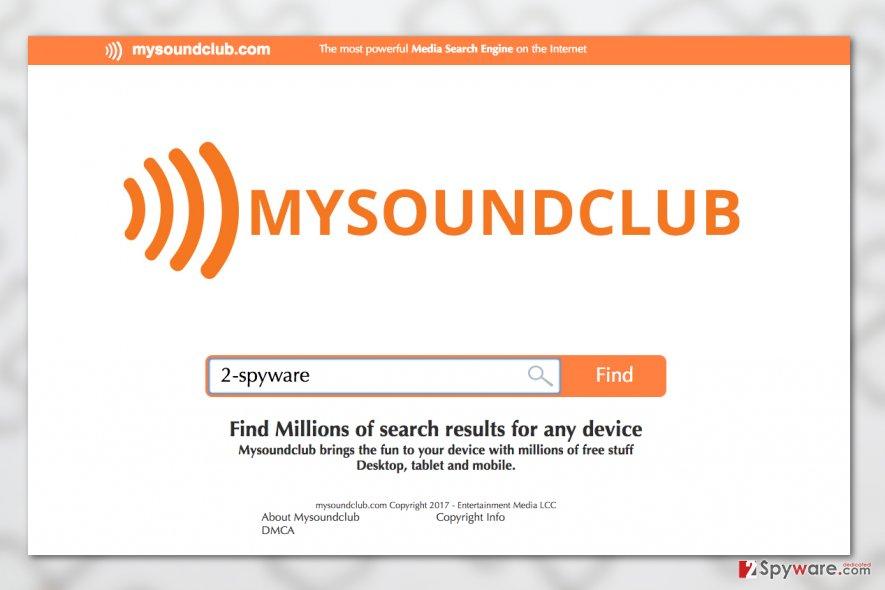 MySoundClub.com virus