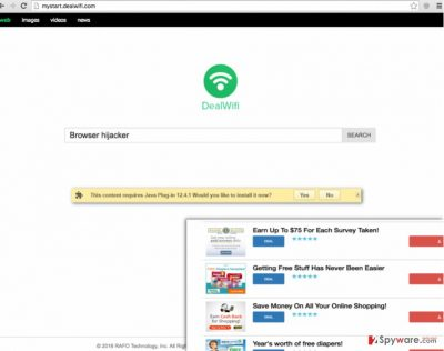 Mystart.dealwifi.com hijack
