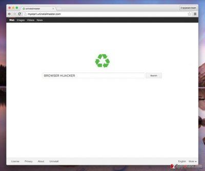 Mystart.uninstallmaster.com virus