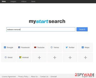 MyStart removal