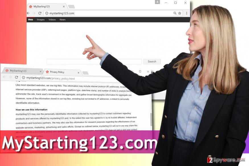 MyStarting123.com virus