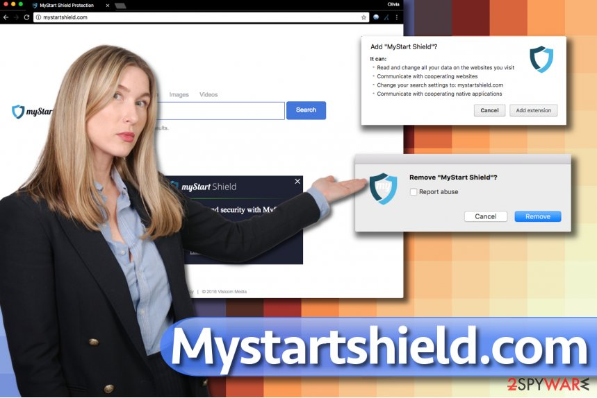 Mystartshield.com browser hijacker