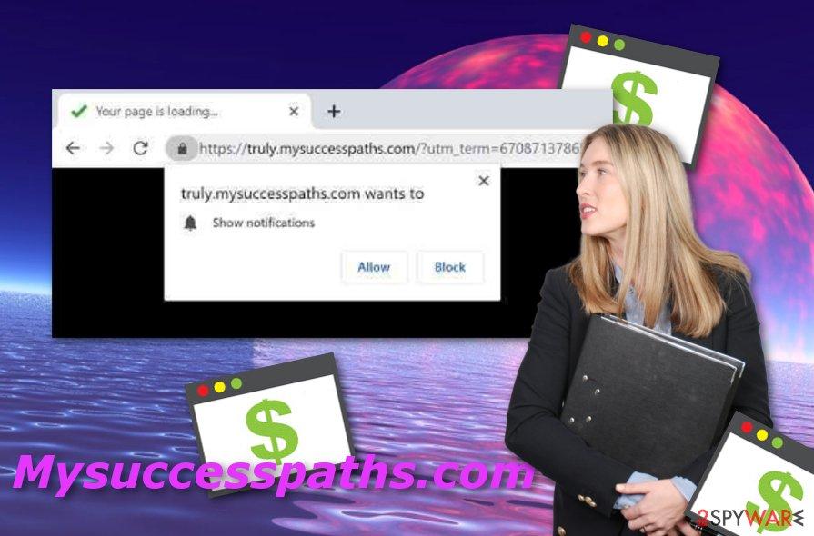 Mysuccesspaths.com adware