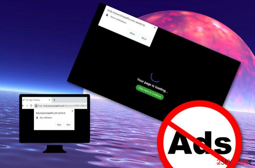 Mysuccesspaths.com ad-supported application
