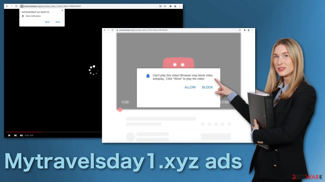 Mytravelsday1.xyz ads