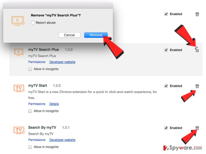Remove myTv Search Plus virus (Virus Removal Guide)