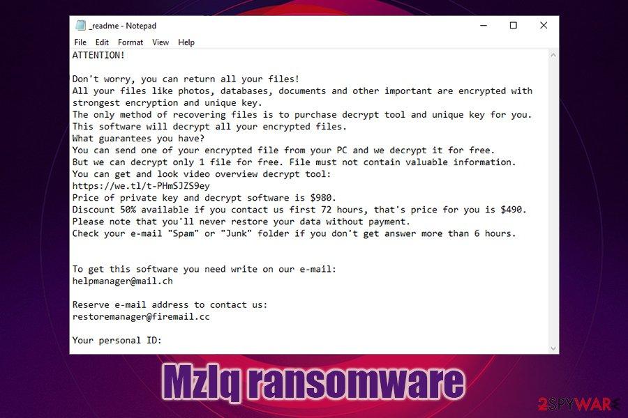 Mzlq ransomware