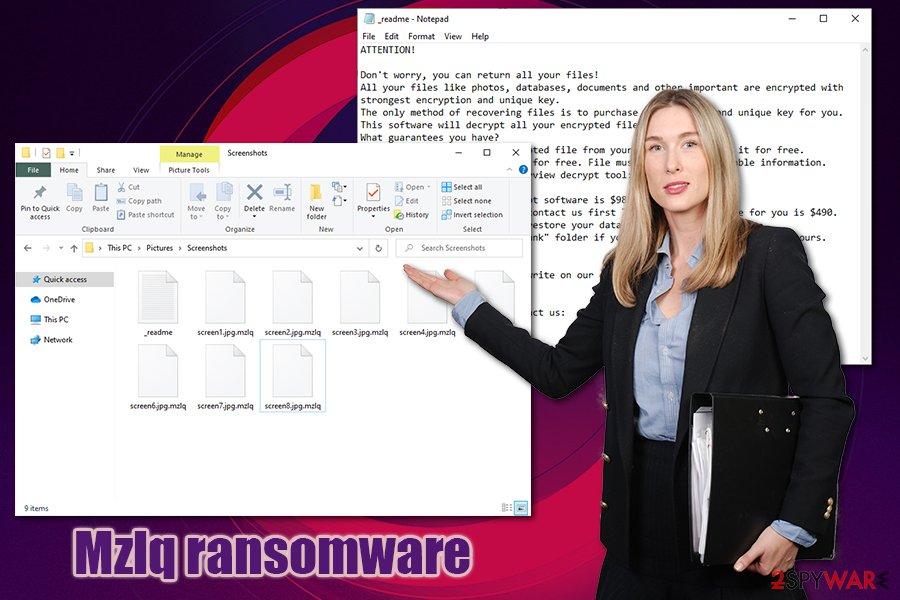 Mzlq ransomware virus